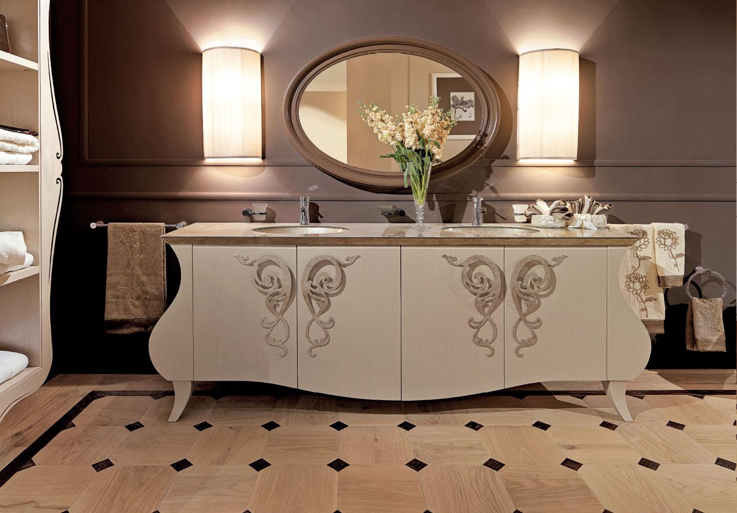 Mobile Da Bagno Glamour : Arredamento bagno classico complementi di arredo classici di