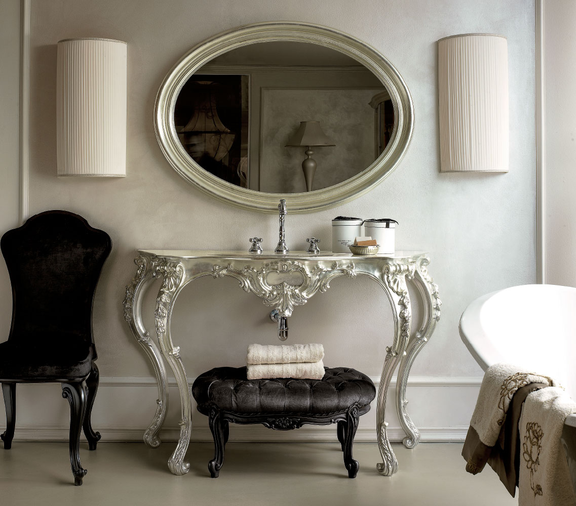 Arredamento bagno classico complementi di arredo classici for Complementi di arredo bagno