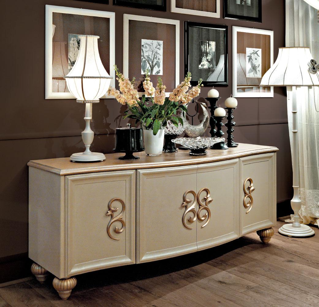 Credenze classiche per l\'arredamento del soggiorno classico ...