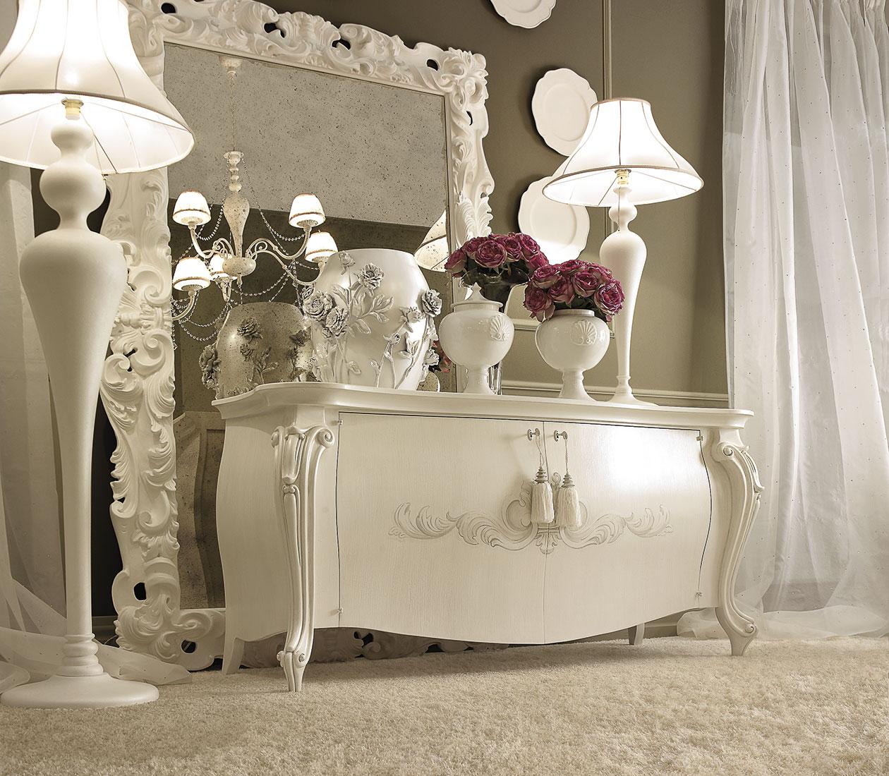 Credenze classiche per l'arredamento del soggiorno classico ...