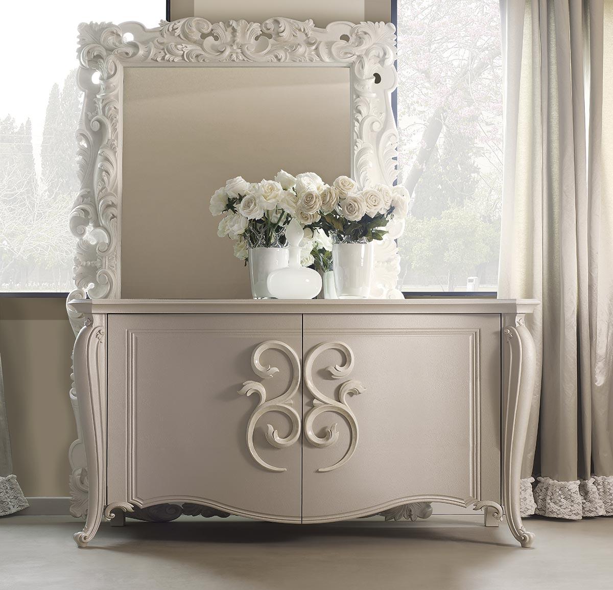 Credenze classiche per l 39 arredamento del soggiorno for Complementi di arredo soggiorno