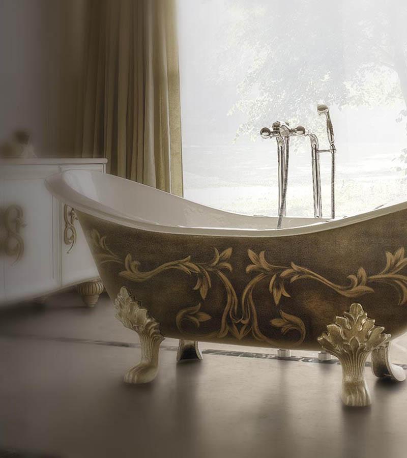 Arredamento classico, camere classiche, letti in ferro battuto ...